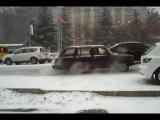 Первый снег, веселуха на дорогах!